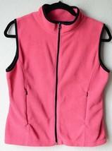 Alps Polyester Fleece Mock Neck Zip Front Vest ... - $11.87
