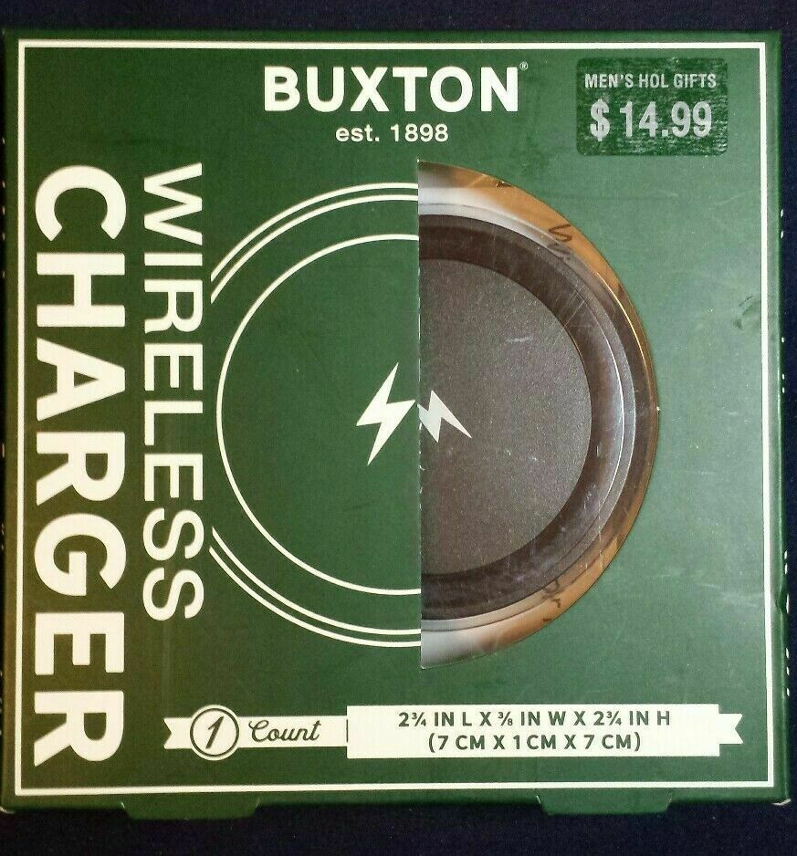 Primary image for 2x TWO Buxton Wireless iPhone Charger New 5/5S/5C/5SE/6/6 Plus/6S/6S Plus/7