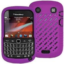 Decoro Premium Heavy Duty Purple /Black Rubber Silicone Plastic/ Hybrid ... - $7.87