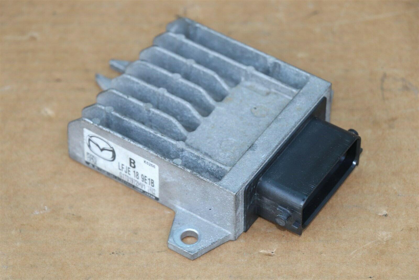 Mazda TCM TCU Trans Transmission Control Module Computer Shift Unit LFJE 18 9E1B
