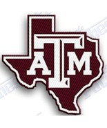 TEXAS A & M AGGIES  iron on embroidered PATCH COLLEGE UNIVERSITY SPORTS SCHOOL. - $10.95