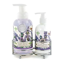 Michel Design Works Foaming Hand Soap and Lotion Caddy Gift Set, Lavende... - $29.52