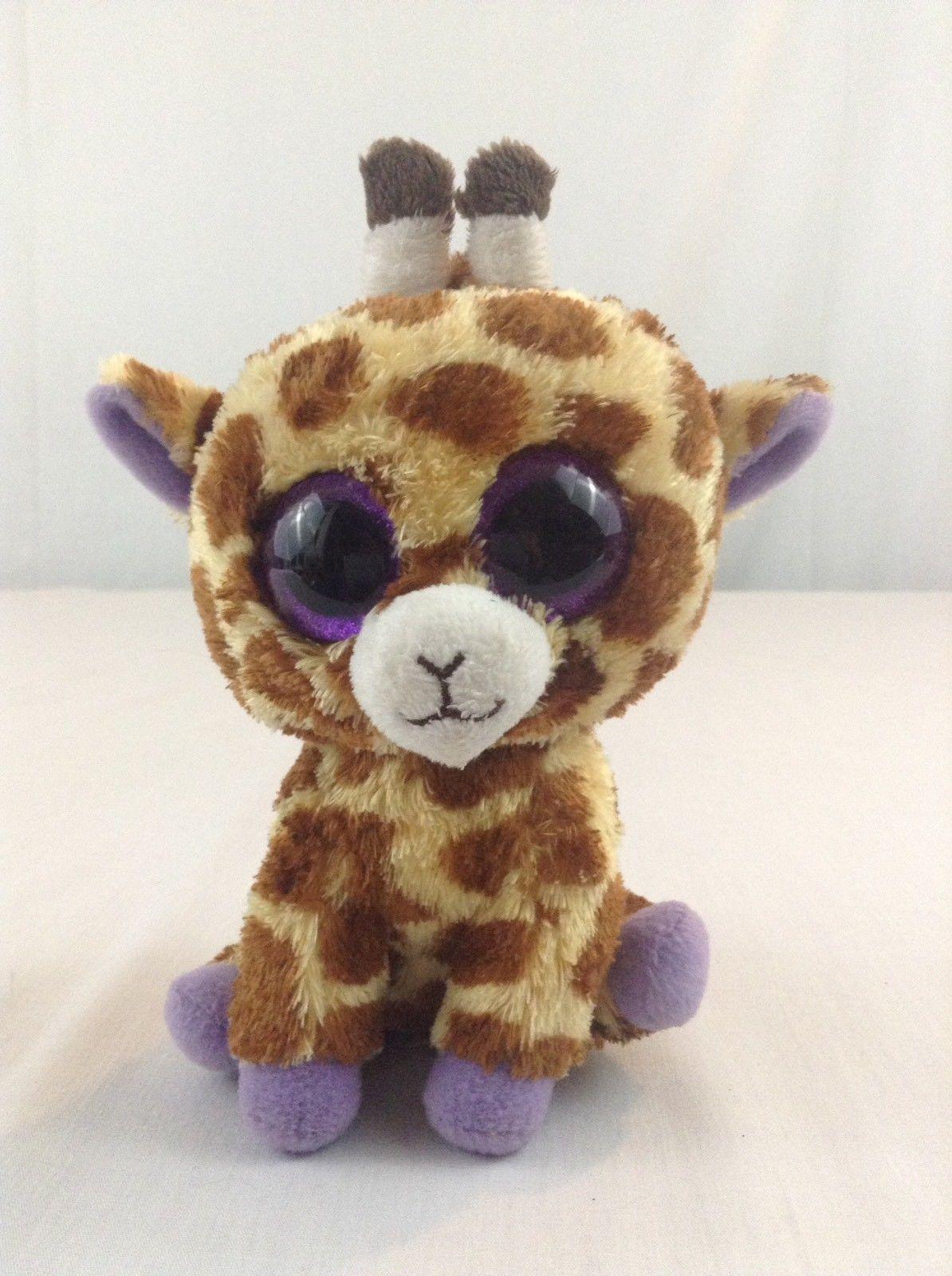 5bb3722dc70 S l1600. S l1600. Ty Beanie Baby Boo s Safari The Giraffe Glitter Eyes  Stuffed Plush Animal Toy ...