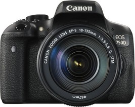 Canon EOS 750D DSLR Camera with 18-135mm Lens - $666.90