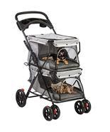 Double Pet Stroller for 2 Dogs or Cats, 2020 Collection - $98.99+