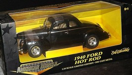 1940 Ford Coupe Stock Rod - 1:18 Scale with Box AA20-NC8153 Vintage Collecti image 2