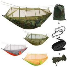 Outdoor Camping Hammock Mosquito Net Hunting Hamac Parachute Hamaca For ... - $40.99
