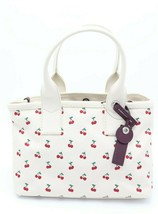 NWT MARC by Marc Jacobs Cherry Fruit Embroidered Canvas Tote Shoulder Ba... - $178.00