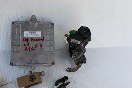 04 Accord v6 ATX ECU ECM Ignition Switch w/Immo Glove Trunk Door Lock & 3 Keys image 5