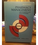 Pharmacy Management for Students & Practitioners  Tharp and Lecca second... - $19.39