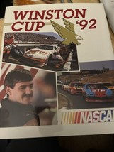 Very nice Nascar 1992 Winston Cup HTF Yearbook-Alan Kulwicki Champion VGC - $9.90