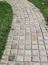 """12 Paver Molds Make 100s of 6x6x1.5"""" Castle Cobble Stones for Pennies. FAST SHIP image 4"""