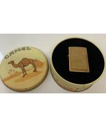 Vintage Zippo 1996 Camel Scrollwork Brass Lighter Model #AXII In TIN New... - $233.74