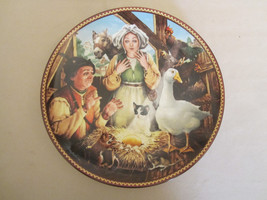 Goose That Laid The Golden Egg Collector Plate Aesop's Fables Knowles Hampshire - $12.00