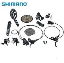 8Pcs SLX M7000 Bike Cycling Groupsets 22 speed Crank Mountain Bicycle Parts - $2,400.50
