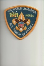 1991 17th World Jamboree Boy Scouts of America patch - $5.94