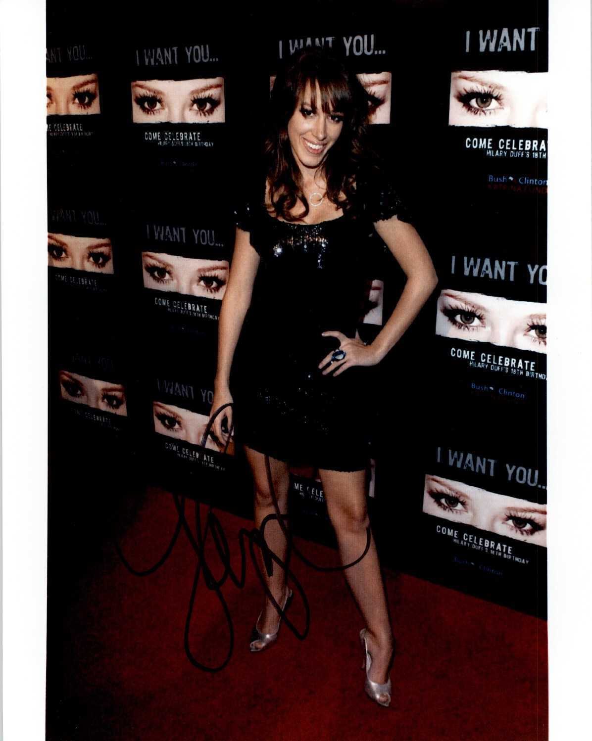 Primary image for Haylie Duff Signed Autographed Glossy 8x10 Photo