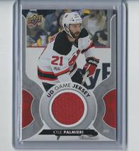 Kyle Palmieri 17/18 Upper Deck UD Game Jersey #GJ-KP New Jersey Devils Card - $6.10
