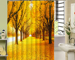 bath curtain polyester waterproof 3d printing tree shower curtain in the bathroom thumb155 crop