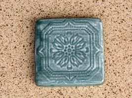 "Victorian 5""x5"" Tile Molds (12) Make Hundreds of Cement Plaster Floor Wall Tiles image 4"