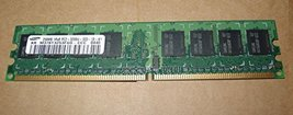 M378T3253FG0-CCC:Samsung 256MB PC2-3200 CL3 DDR2-400 240-PIN