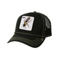 Goorin Bros Snapback Mesh Cap Animal Farm Black Queen Bee Hive Trucker Hat image 1