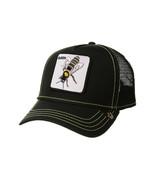 Goorin Bros Snapback Mesh Cap Animal Farm Black Queen Bee Hive Trucker Hat - $32.66