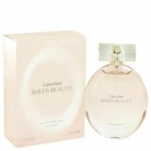 Perfume Sheer Beauty by Calvin Klein 1.7 oz  Eau De Toilette Spray for W... - $21.27