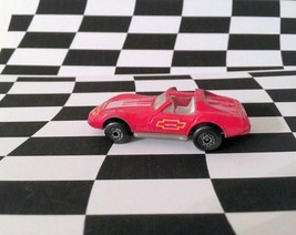 Matchbox 1992 MB #58 Corvette T-Top Red Thailand - $1.67