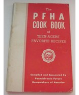 The PFHA Cook Book of Teen Agers Favorite Recipes Future Homemakers of A... - $12.86