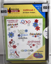 Amazing Designs Girlfriends I Stickereien CD,ADC-63TK - $56.48