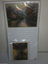 Thomas Kinkade Quiet Evening Magnetic Note Memo Pad & Matching Magnets L... - €12,37 EUR