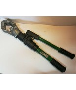Greenlee HK12ID 12 Ton Indent Dieless Manual Hydraulic Crimper Crimping ... - $890.99