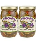 Jake & Amos - Hot Bread & Butter Pickles / 2 - 16 Oz. Jars - $13.84