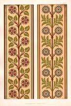 1892 PRINT ~ PLATE LXXXVI ORNAMENTIST AESTHETIC AUDSLEY ORNAMENT ANTIQUE... - $79.98