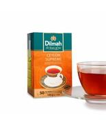 Dilmah Ceylon Supreme Tea - Ceylon Tea in 50 Tea Bags - $12.14