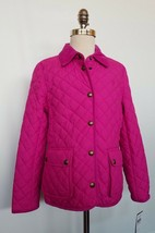 Ralph Lauren Girls Quilted Barn Jacket Pink L 12-14 NWT - $69.99