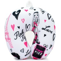Pink Fizz Paris Soft and Comfortable Microbeads Travel Neck Pillow for G... - $8.42