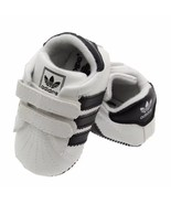 Newborn 0-18M Baby Toddler Shoes White/Black Soft Room Shoes A183 - $16.99