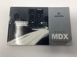 2005 Acura MDX Owners Manual book Z0L07 - $22.07