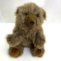 Folkmanis Brown Bear Full Body Hand Puppet Plush Stuffed Folktails Furry Folk - $8.90