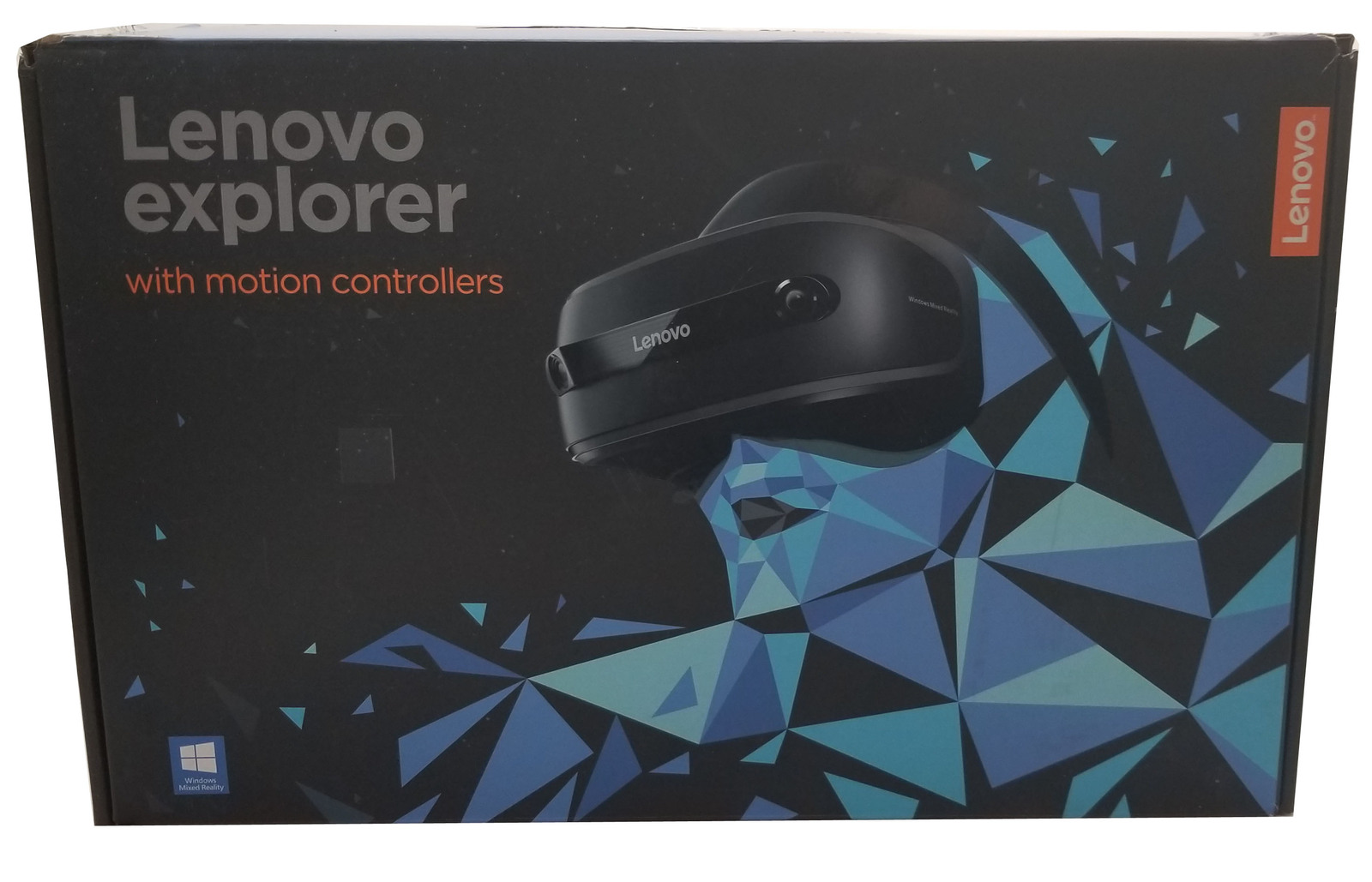 Lenovo Explorer 1440p Virtual Reality Headset With Motion Controllers Bin:SF