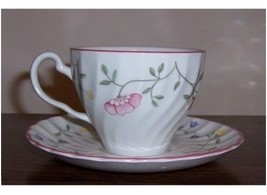 JOHNSON BROTHERS SUMMER CHINTZ TEA CUP & SAUCER SET FLORAL MADE IN ENGLAND NEW - $94.75