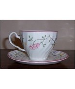 JOHNSON BROTHERS SUMMER CHINTZ TEA CUP & SAUCER SET FLORAL MADE IN ENG... - $14.75