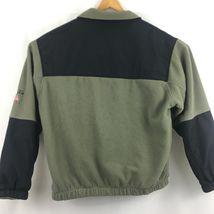 Woolrich Mens  Zip Up Fleece Jacket Sz L Large Zip Up Pockets B209 image 5