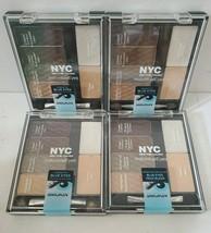 NYC New York Color Individual Blue Eye Shadow #942 Smokey Blues Lot of 4... - $25.69