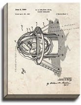 Flight Simulator Patent Print Old Look on Canvas - $39.95+