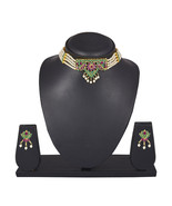 Efulgenz Cubic Zirconia Necklace Set for women - $40.00