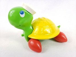 Fisher-Price Turtle Pull String Toy Vintage 1977 Preschool Pretend Play ... - $9.99