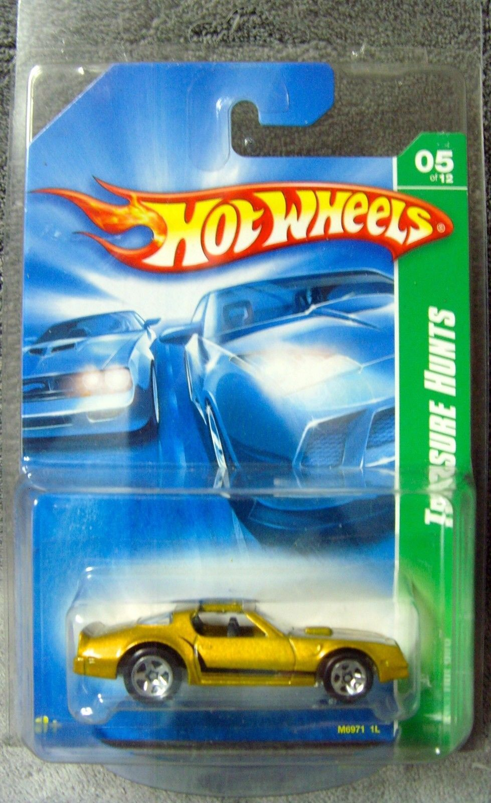 Primary image for Mint!•2008•Hot Wheels•Treasure Hunt•Gold•Pontiac Firebird•Hot Bird•#5 of 12•#165